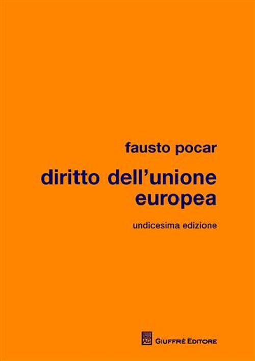 Diritto dell'Unione Europea.