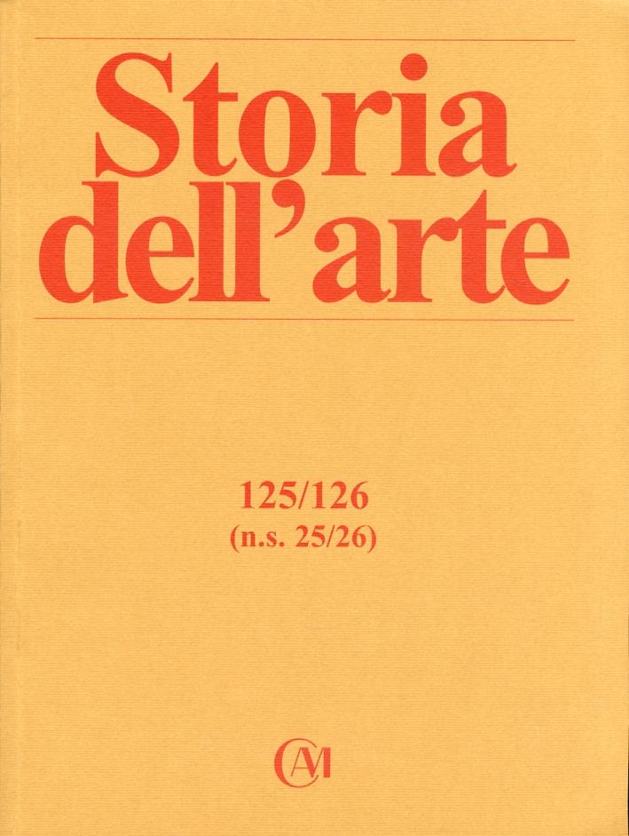 Storia dell'arte. Nuova serie. 0125-0126. N. 25-26. Gennaio - Agosto 2010. Bibliografia di Lionello Venturi