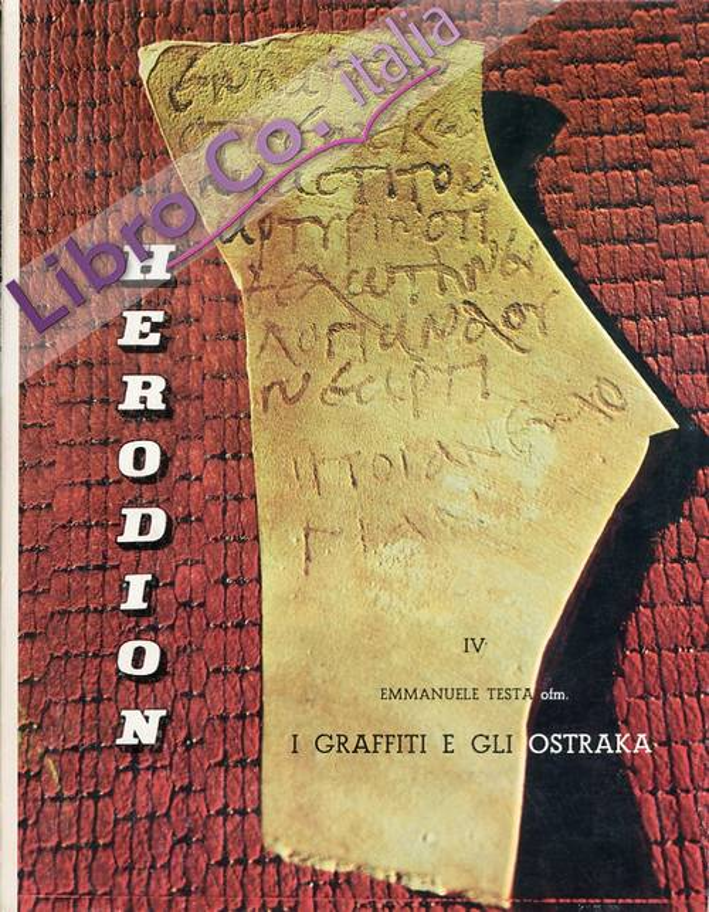 Herodion. IV. I graffiti e gli ostraka