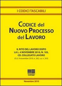 Codice del nuovo processo del lavoro