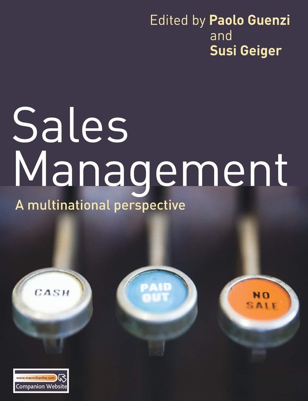 Sales Management.