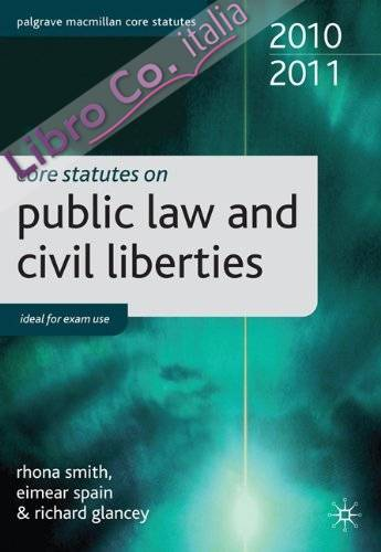 Core Statutes on Public Law and Civil Liberties
