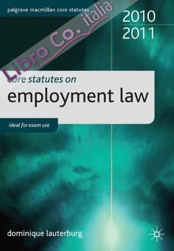 Core Statutes on Employment Law