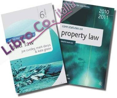Land Law + Core Statutes on Property Law.