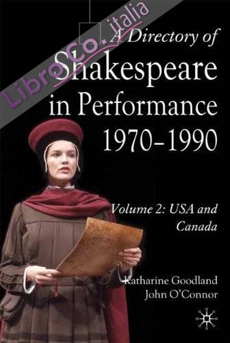 Directory of Shakespeare in Performance 1970-1990