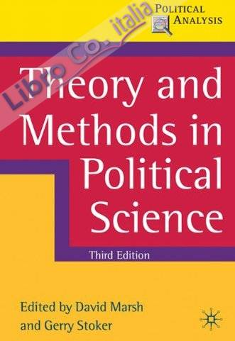 Theory and Methods in Political Science.
