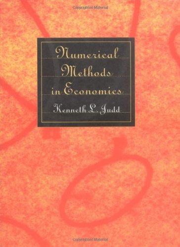Numerical Methods in Economics.