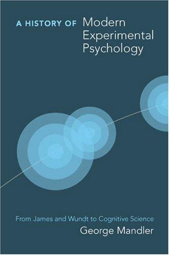 History of Modern Experimental Psychology