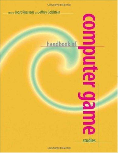 Handbook of Computer Game Studies