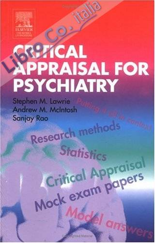 Critical Appraisal for Psychiatrists.