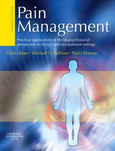 Pain Management.