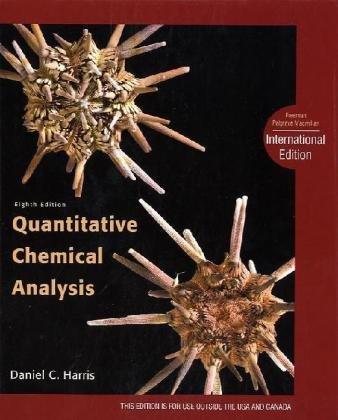 Quantitative Chemical Analysis.