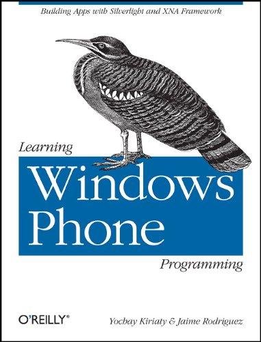 Learning Windows Phone Programming.