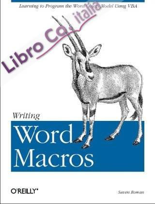 Writing Word Macros