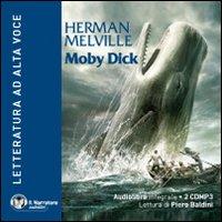 Moby Dick. Audiolibro. 2 CD Audio formato MP3. Con e-text. Ediz. integrale