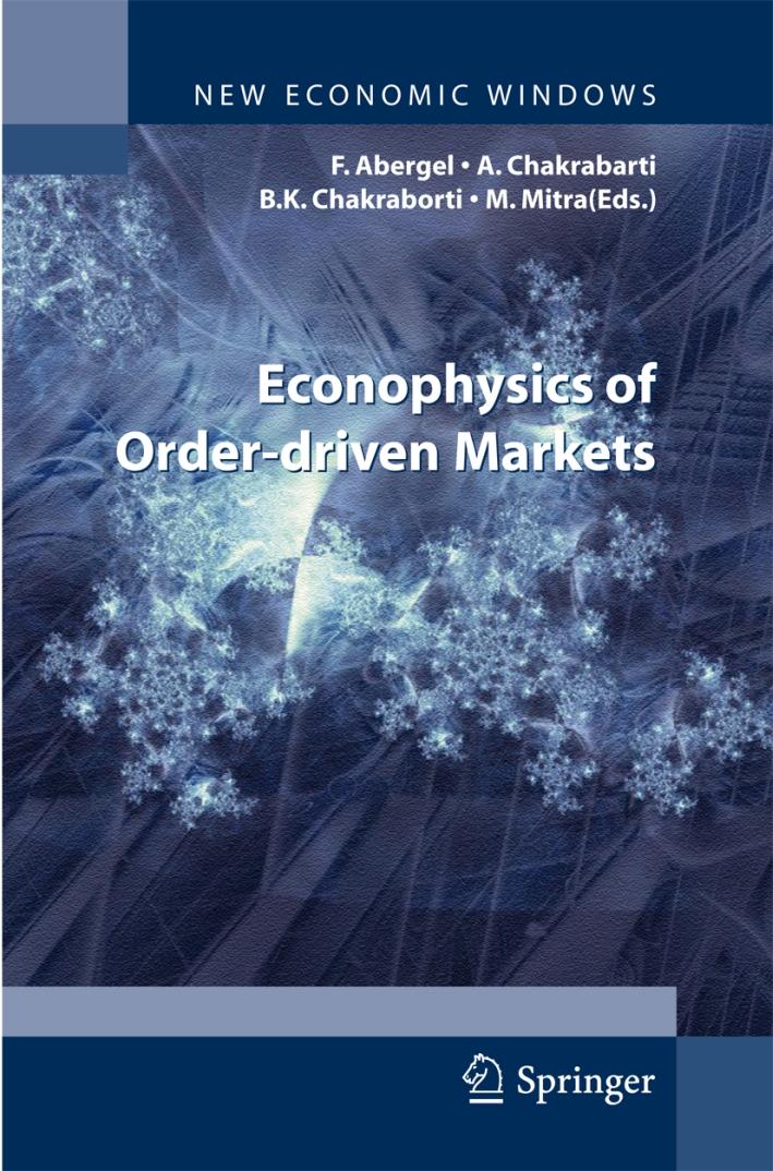 Econophysics of order-driven markets. Proceedings of Econophys-Kolkata V