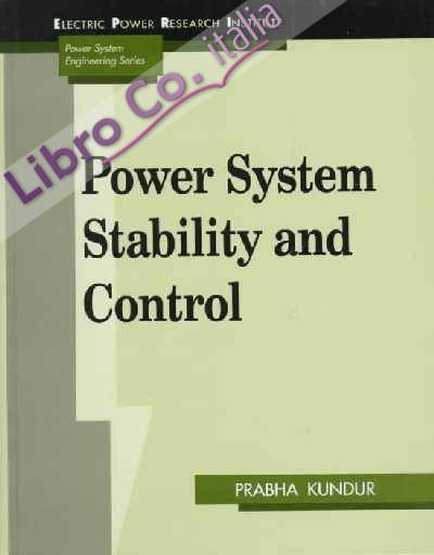 Power System Stability and Control.