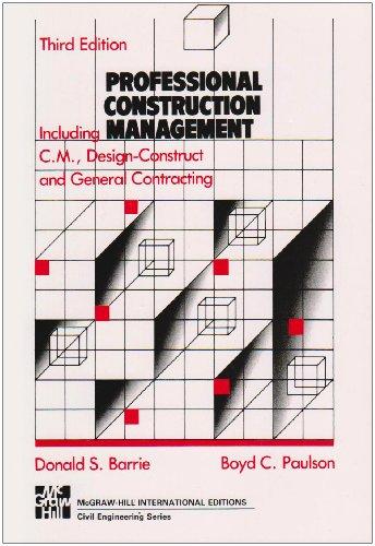 Professional Construction Management.