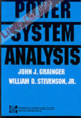 Power Systems Analysis.
