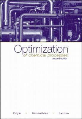 Optimization of Chemical Processes
