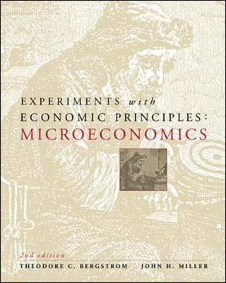Experiments with Economic Principles