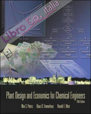 Plant Design and Economics for Chemical Engineers.