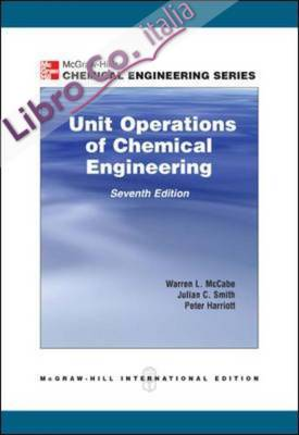 Unit Operations of Chemical Engineering.