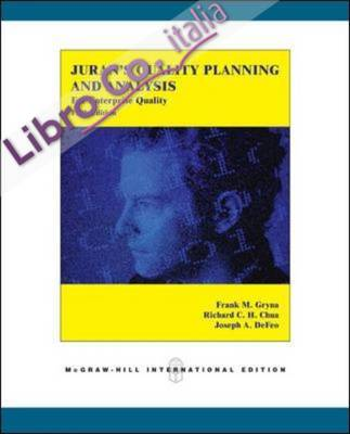 Juran's Quality Planning and Analysis for Enterprise Quality.