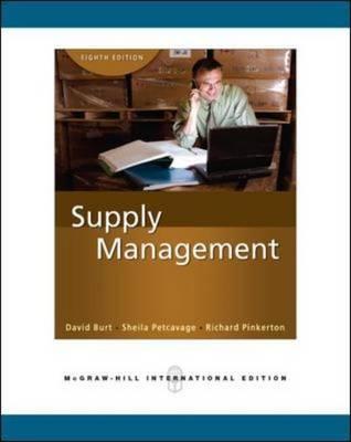 Supply Management.