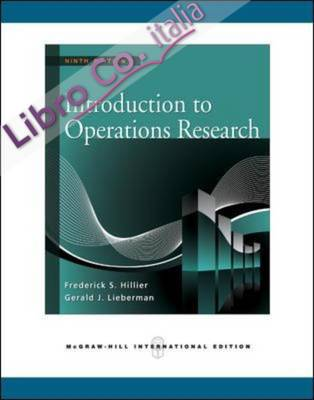 Introduction to Operations Research.