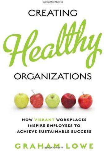 Creating Healthy Organizations.