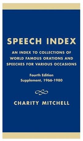 Speech Index.