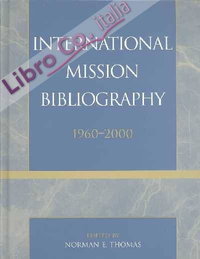 International Mission Bibliography.