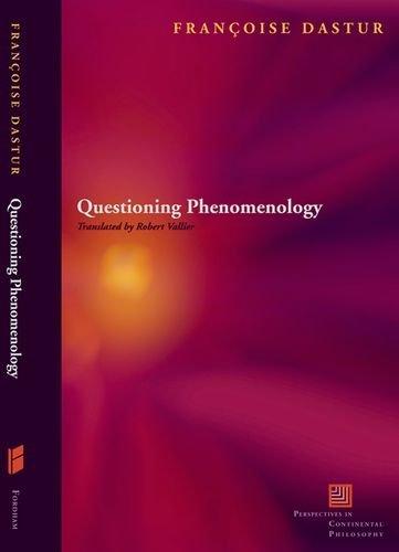 Questioning Phenomenology.