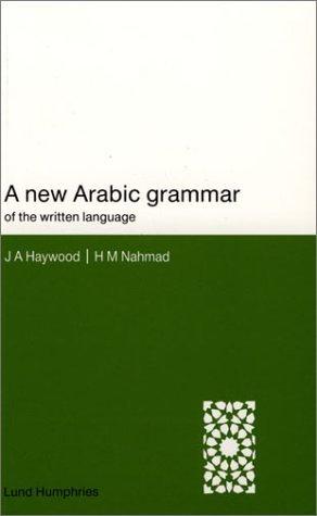 New Arabic Grammar of the Written Language.