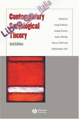 Contemporary Sociological Theory.