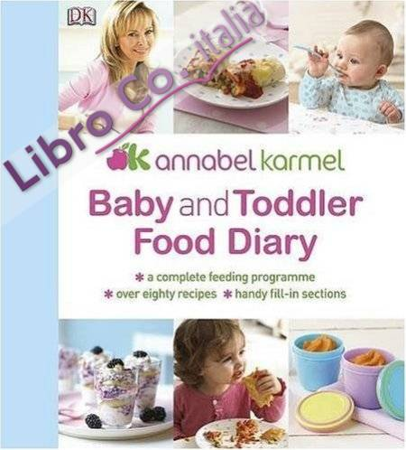 Baby and Toddler Food Diary.