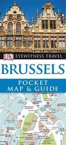 DK Eyewitness Pocket Map and Guide: Brussels.