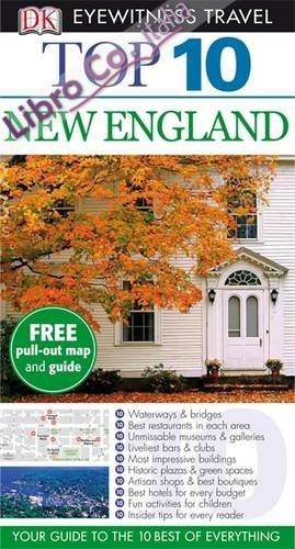 DK Eyewitness Top 10 Travel Guide: New England.