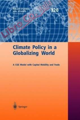 Climate Policy in a Globalizing World. A CGE Model with Capital Mobility and Trade