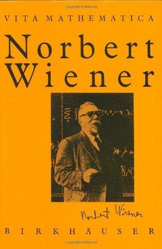 Norbert Wiener 1894-1964.