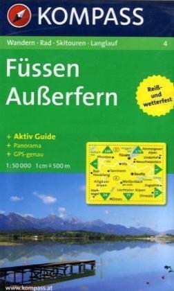 4: Fussen - Ausserfem 1:50, 000.