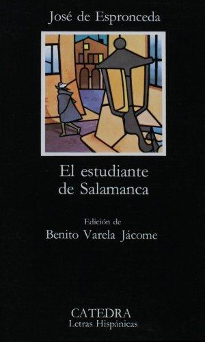 El Estudiante De Salamanca: El Estudiante De Salamanca.