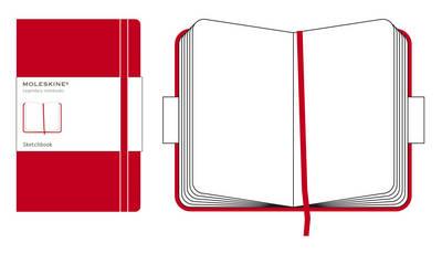 Moleskine Pocket Sketch Book Red