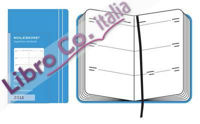 Moleskine Extra Small Weekly Horizontal Planner Hard 12 Month 2011