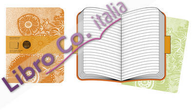 Moleskine Cover Art Flower Fantasy Ruled Journal