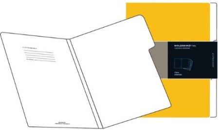 Moleskine Folio Dark Orange Filers