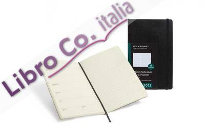 2012 Moleskine Extra Large Weekly Notebook 18 Months Soft