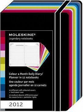 2012 Moleskine Volant Daily Diary (12-Set Slipcased).