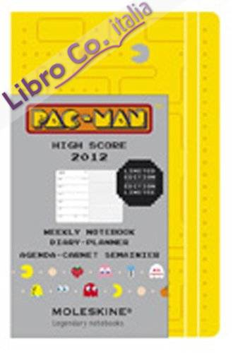 2012 Moleskine Pac-Man Large Weekly Diary Yellow